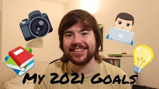 My goals for 2021 - YouTube, Board Games, Reading, and more