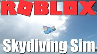 Lets Jump From High Places! Roblox - Skydiving Simulator!