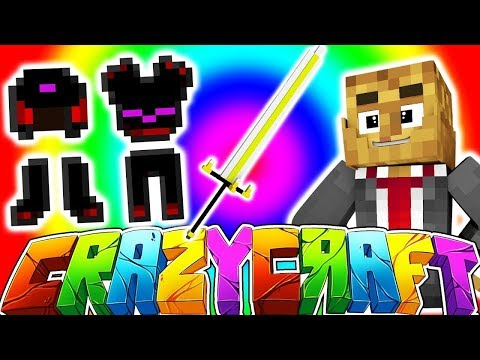 ROYAL GUARDIAN SWORD 750+ w/ TEWTIY, ALEXACE, AND FRIZZLENPOP - MINECRAFT CRAZY CRAFT SURVIVAL #6
