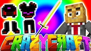 ROYAL GUARDIAN SWORD 750+ w/ TEWTIY, ALEXACE, AND FRIZZLENPOP - MINECRAFT CRAZY CRAFT SURVIVAL #6 thumbnail