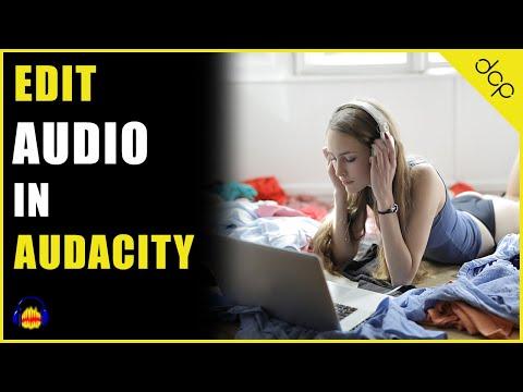 How to edit music track using Audacity audio editor on Windows 10