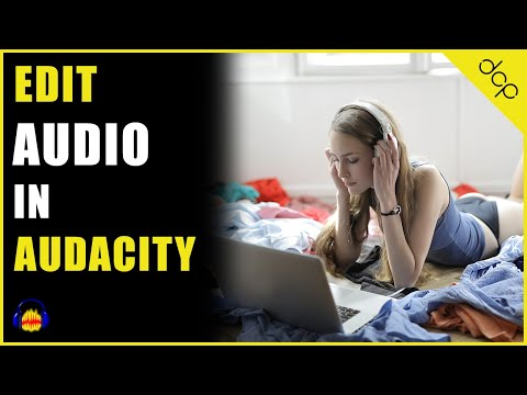How to edit music track using Audacity audio editor on Windows 10 - [ Free Audio Editor]