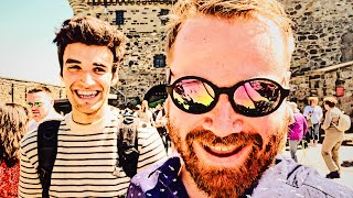 Edinburgh Castle with NYC Vlogger LivingBobby