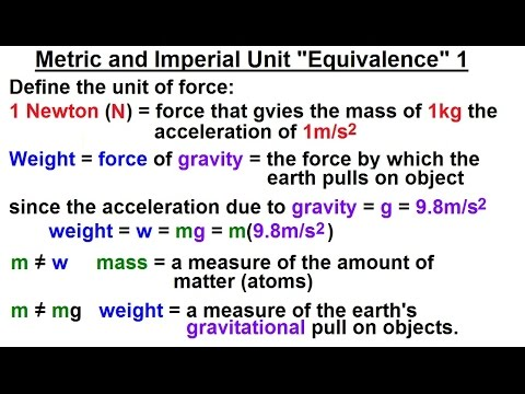 "Physics - Mechanics: Ch. 0.5: Standard Units (3 of 41) Maritime and Imperial Unit ""Equivalence"" 1"