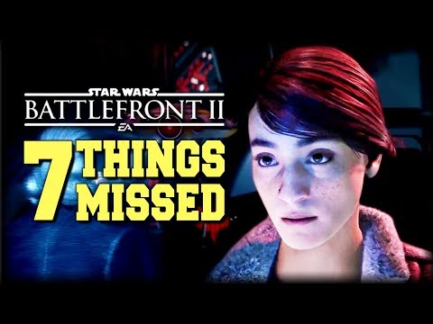 The Last Jedi Jedi Season - 7 Things You Missed and Easter Eggs (Star Wars Battlefront 2)