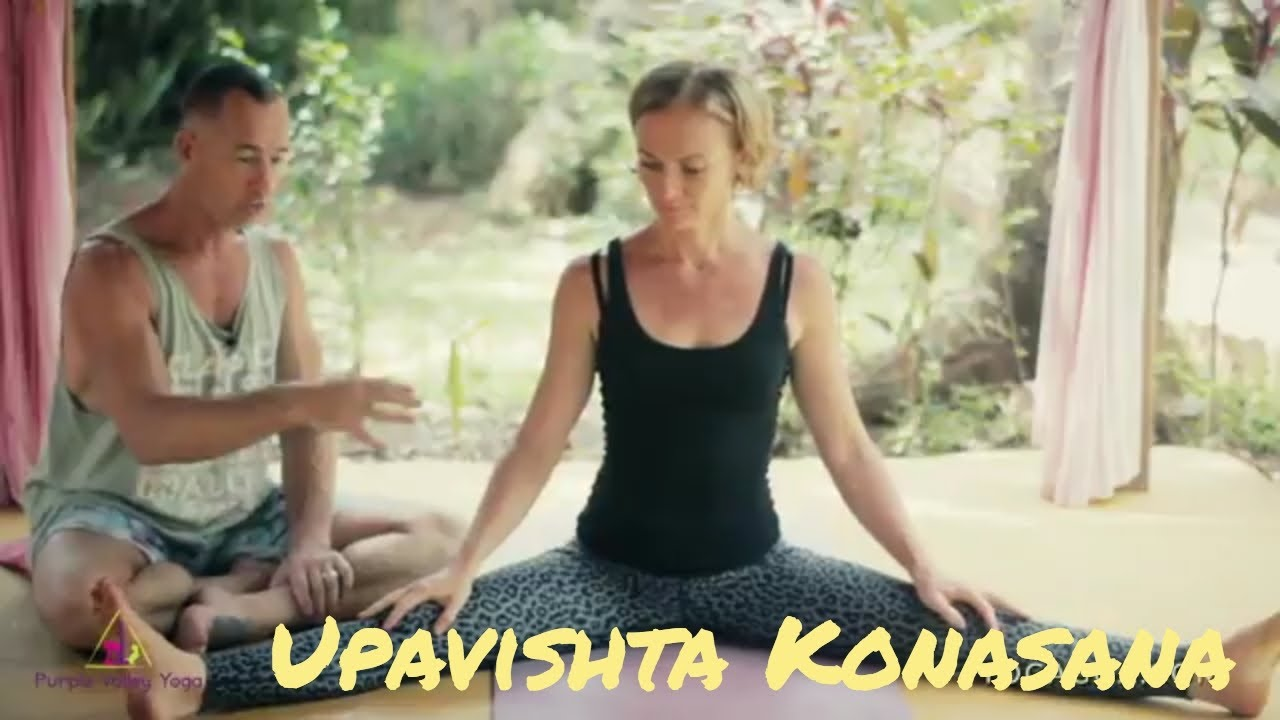How To Do Upavishta Konasana  | Ashtanga Yoga