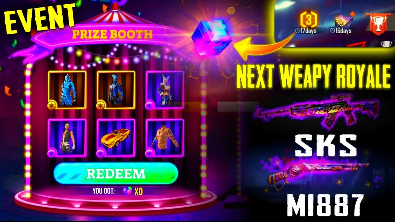 New Updates🔥 New Carnival Event | Next Weapon Royale | Bermuda 2.0 | 3 Anniversary Event Free Magic