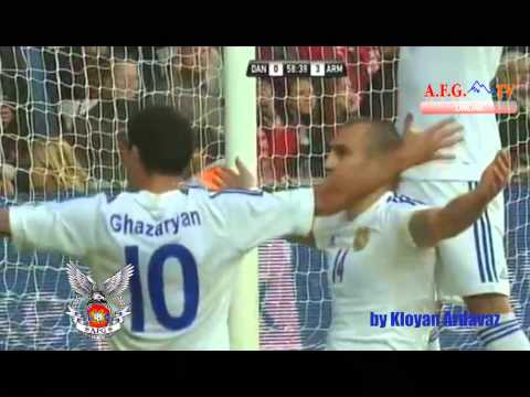 All Goals Of The Armenian National Football Team  At The World Cup 2014 голы сборной армении