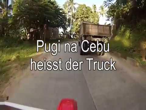 Motorradfahren auf den Philippinen