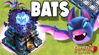 NEW Bat Spell vs ALL Defenses | Coming to Clash of Clans | Winter Update