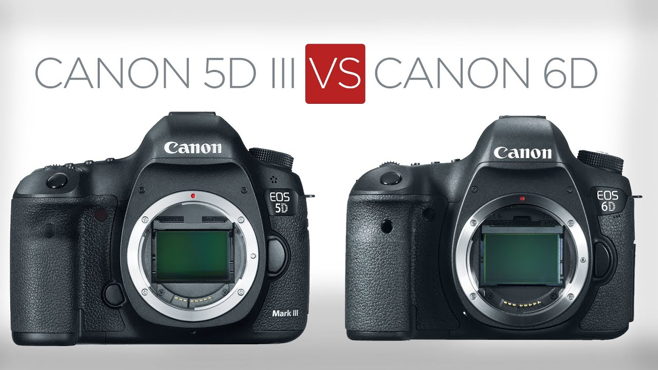 5D vs 6D: The 9 biggest differences between the 5D Mark III and the 6D