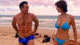 Catherine Bell Blue Bikini JAG avi