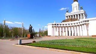 Прогулка на ВДНХ ВВЦ, развлечения Москвы
