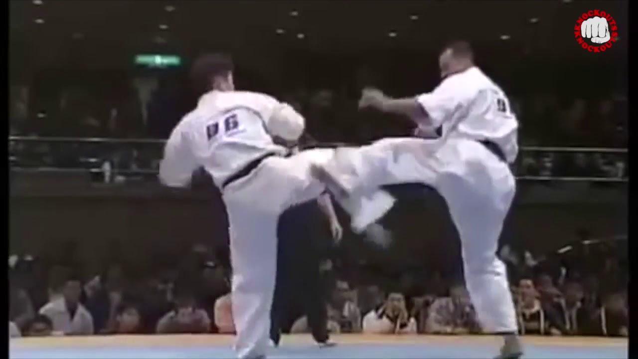 KYOKUSHIN KNOCKOUTS 8th World Open Karate Tournament pt1 0