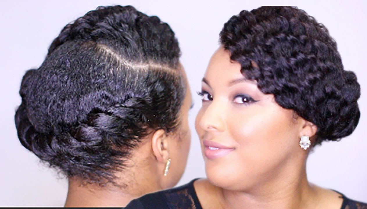 Twist Out On Short Natural Hair B
