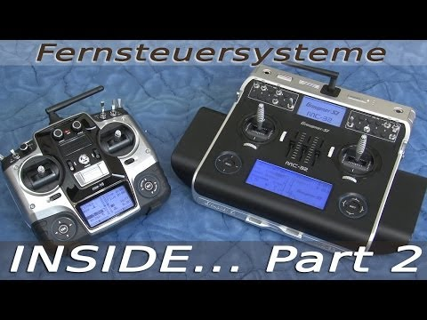 INSIDE | model ships - Part 2 - rough basics about transmitters and rc-equipment - SUBWATERFILM