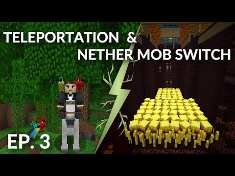 Parrot Experiments, Nether Pacification and ... ?? [Minecraft Survival]
