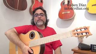 Breathing and playing / Learn Paco de Lucia´s technique / Ruben Diaz