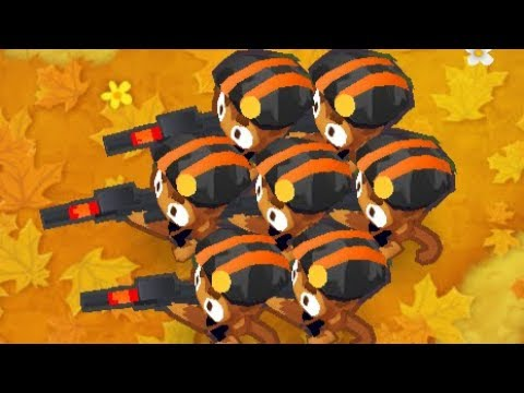Bloons Tower Defense 6 - Sniper Monkey Only on Hard Mode