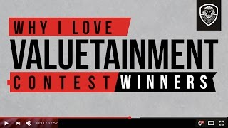 Why I Love Valuetainment- Winners Announced!