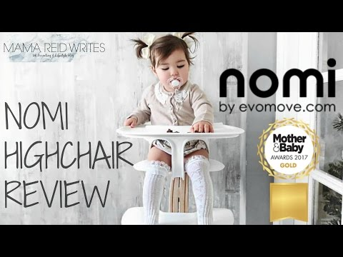 THE BEST HIGHCHAIR? | NOMI HIGHCHAIR REVIEW| MAMA REID WRITES