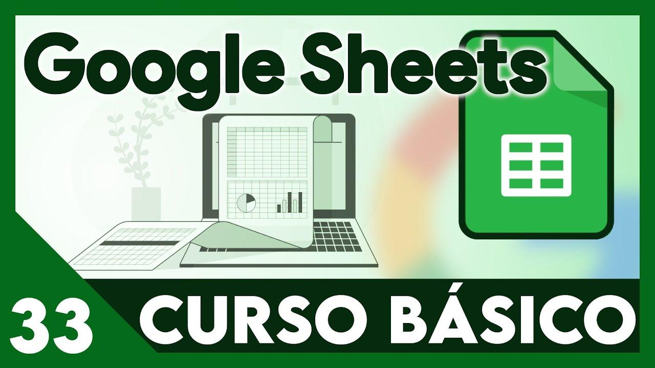📊 Curso Google Sheets 2020  ✅  Histórico, notas y comentarios