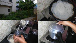 விடிகாலை வேலைகள் | Breakfast preparation and busy morning school routine | Twins vegkitchen