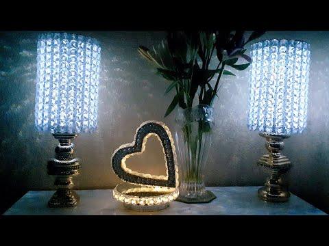 Dollar Tree DIY Elegant Table Lamp 2019| Elegant Dollar Tree Room Decor Lighting|
