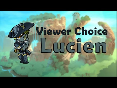 Viewer Choice Diamond Ranked Lucien Brawlhalla Gameplay
