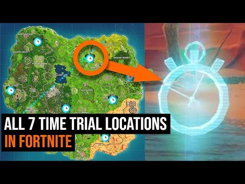 ALL 7 Time Trial Locations In Fortnite - Week 6 Challenges