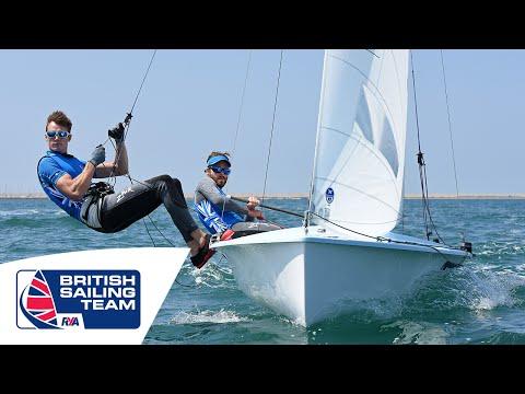 Olympics 2016 - Luke Patience & Chris Grube - 470 Mens - British Sailing Team