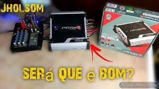 MODULO STETSOM HL800 TESTE CAIXA TRIO PIONEER SERA QUE É BOM