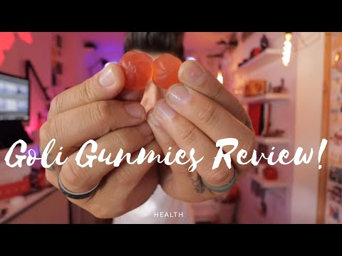GOLI Apple Cider Vinegar Gummy Unboxing and Review!