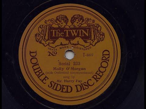 Mr Harry Fay 'Molly O'Morgan' 1910 Acoustic 78 rpm
