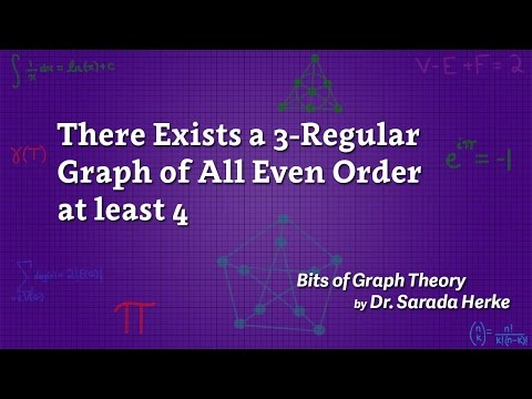Graph Theory: 15.There Exists a 3-Regular Graph of All Even Order at least 4