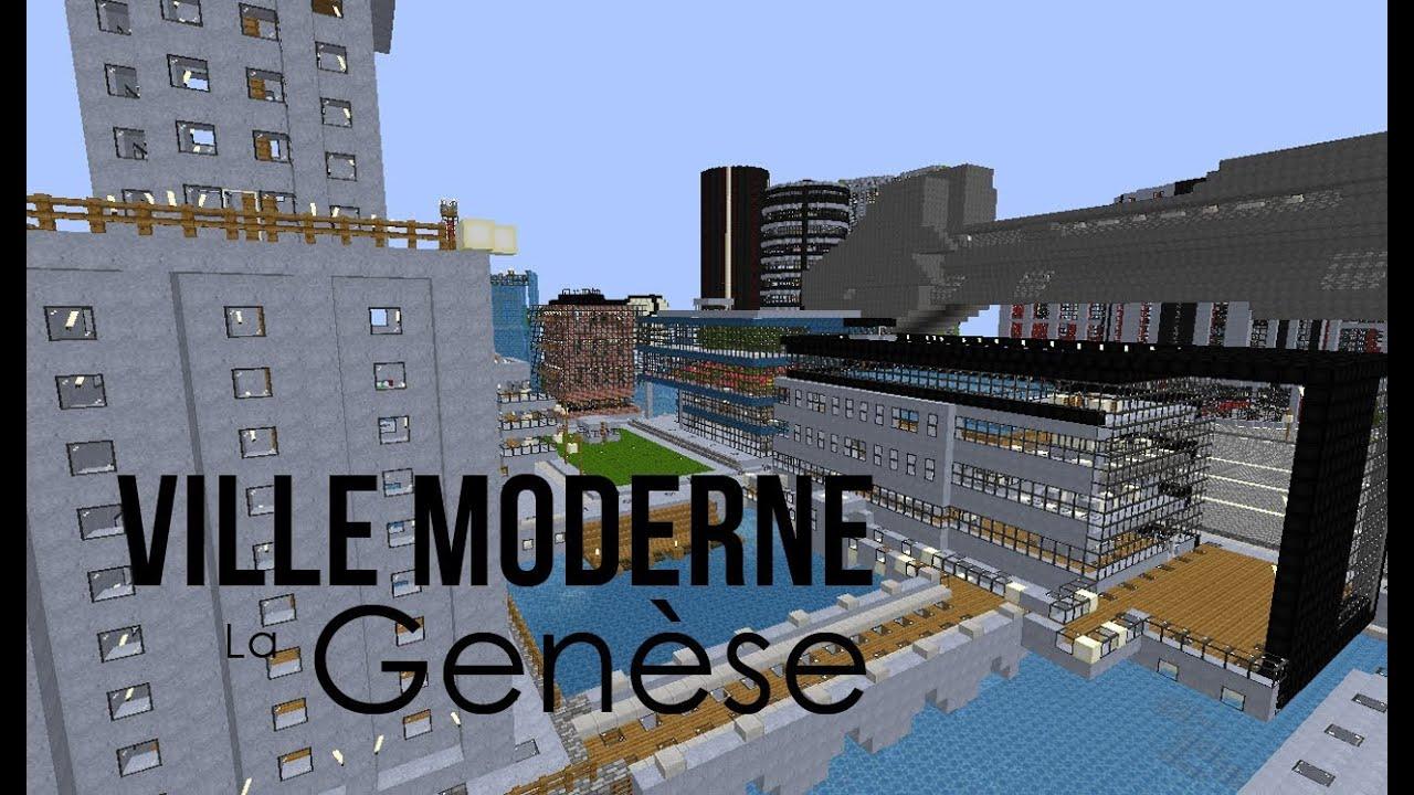 Minecraft.MDR Ep 08: Ville Moderne la Genèse 1/3 - YouTube
