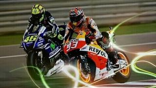 Rossi vs Marquez Best Battle - Highlight MotoGP