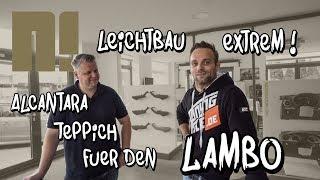 Extrem leichter Neidfaktor Teppich für den Lamborghini! LP-X Projekt Folge 5 | Philipp Kaess |