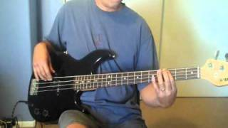 """Easy Like Sunday Morning"" (Lionel Richie)  Bass Cover"