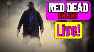 Red Dead Redemption 2 Xbox One X Multiplayer Live - Red Dead Online Beta   RDR2 Update