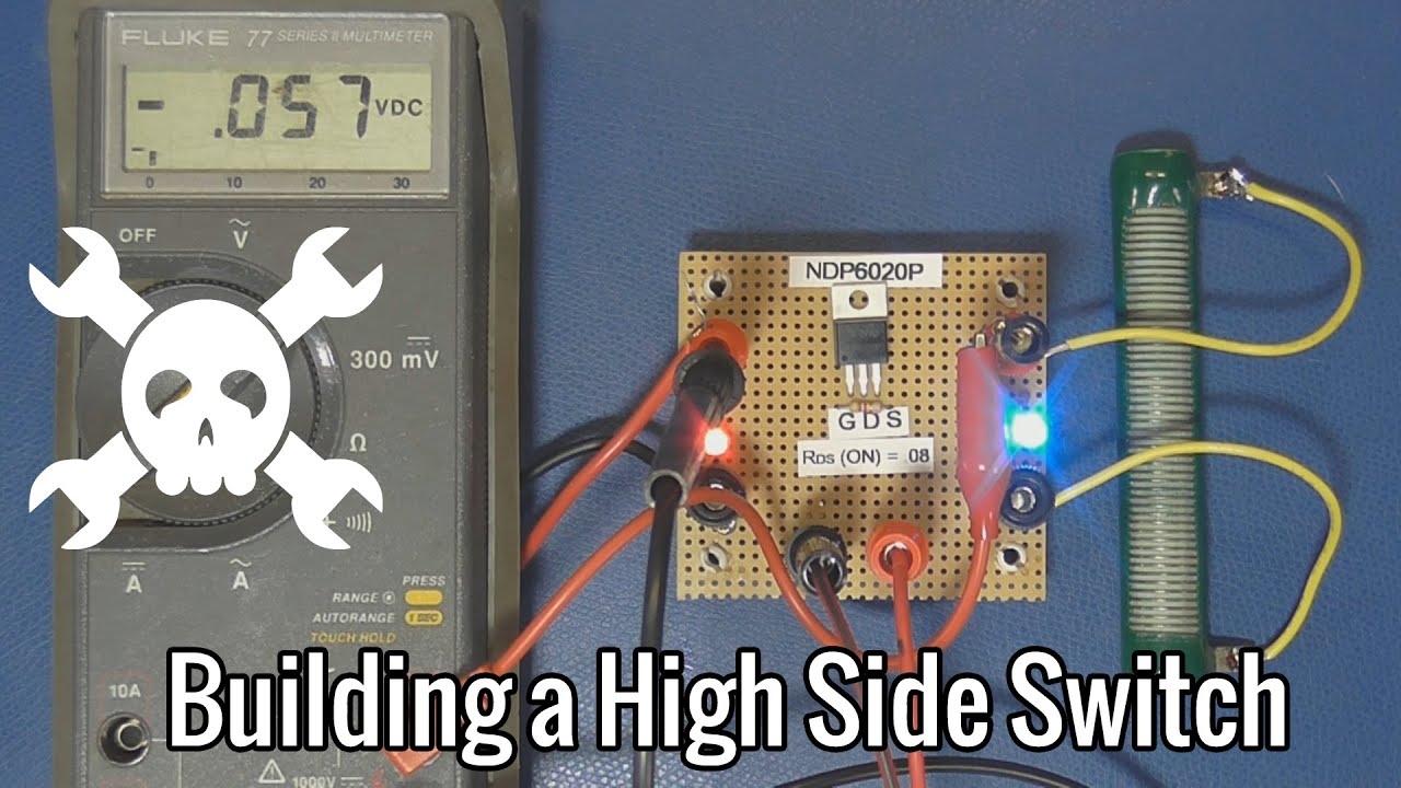 How To Build A High Side Switch Youtube