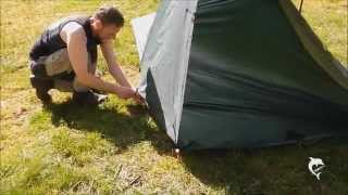 Tarp tent with a floor from a 3x3 DD tarp