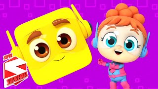 Shapes Song | Learn Shapes For Kids | Nursery Rhymes and Kids Songs
