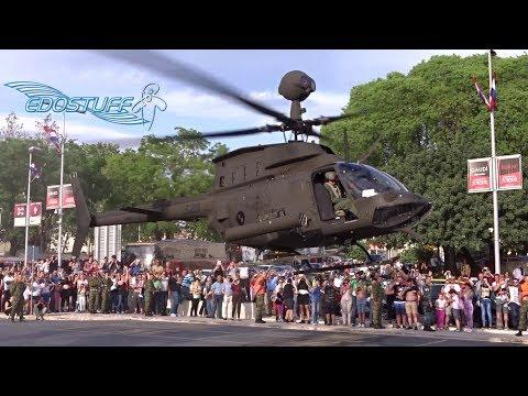 Croatian Air Force Bell OH-58D Kiowa Warrior - Split Riva Takeoff