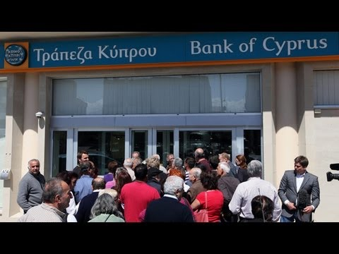 Cyprus Banking Crisis - Cyprus Banks Reopen With Strict Limits On Transactions