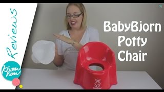 BabyBjorn Potty Chair Review, Toilet Training Help