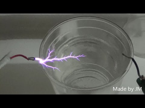 101 stage Cockcroft-Walton voltage multipliers experiment