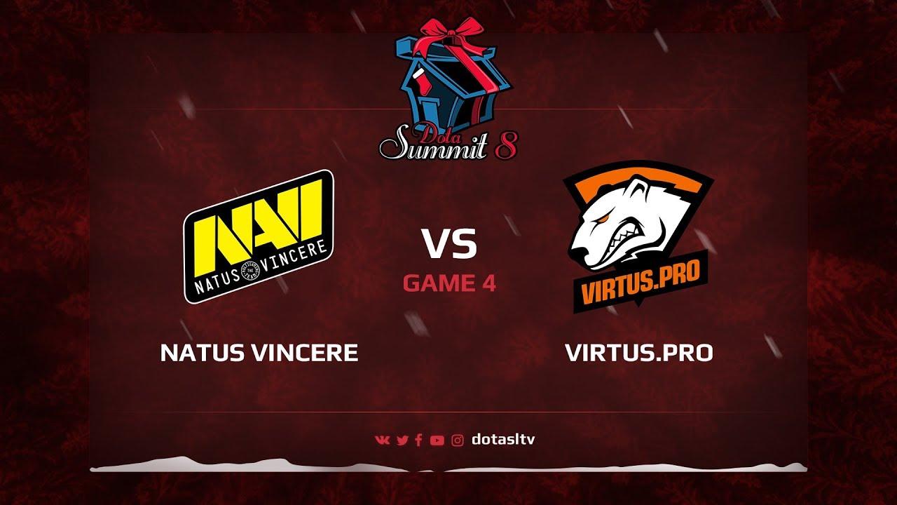 Natus Vincere против Virtus.pro, Четвертая карта, Квалификация на Dota Summit 8