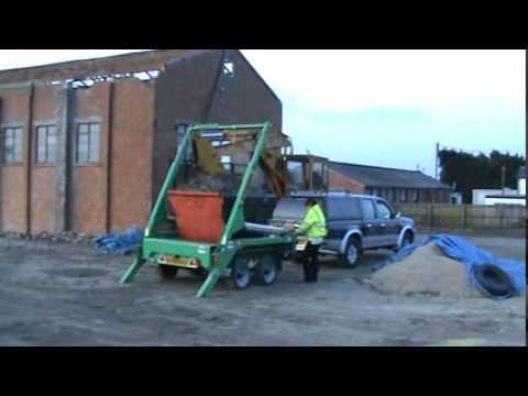 Webb EXTRAREACH Mini Skip Traileravi  YouTube
