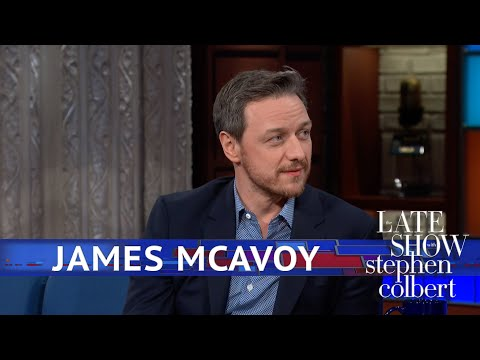 James McAvoy Says Saoirse Ronan Influenced 'Glass'